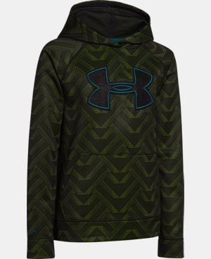 Boys' UA Storm Armour® Fleece Printed Big Logo Hoodie LIMITED TIME: FREE U.S. SHIPPING 6 Colors $28.49 to $37.99