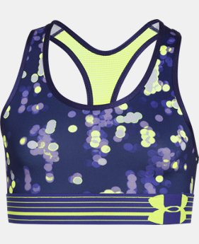 Girls' UA HeatGear® Armour Printed Sports Bra  1 Color $18.99