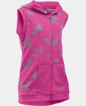 Girls' UA Kaleidalogo Full Zip Vest  1 Color $26.99