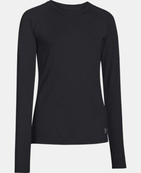 Girls' UA ColdGear® Infrared Warmest Long Sleeve LIMITED TIME: FREE SHIPPING  $33.99