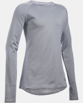 Girls' UA ColdGear® Infrared Warmest Long Sleeve  1 Color $26.99