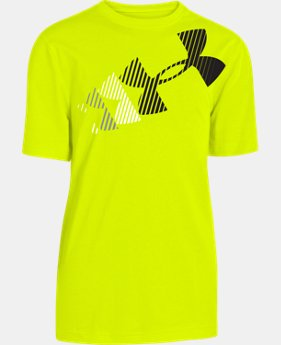 Boys' UA Break Script T-Shirt LIMITED TIME: FREE U.S. SHIPPING 1 Color $14.99