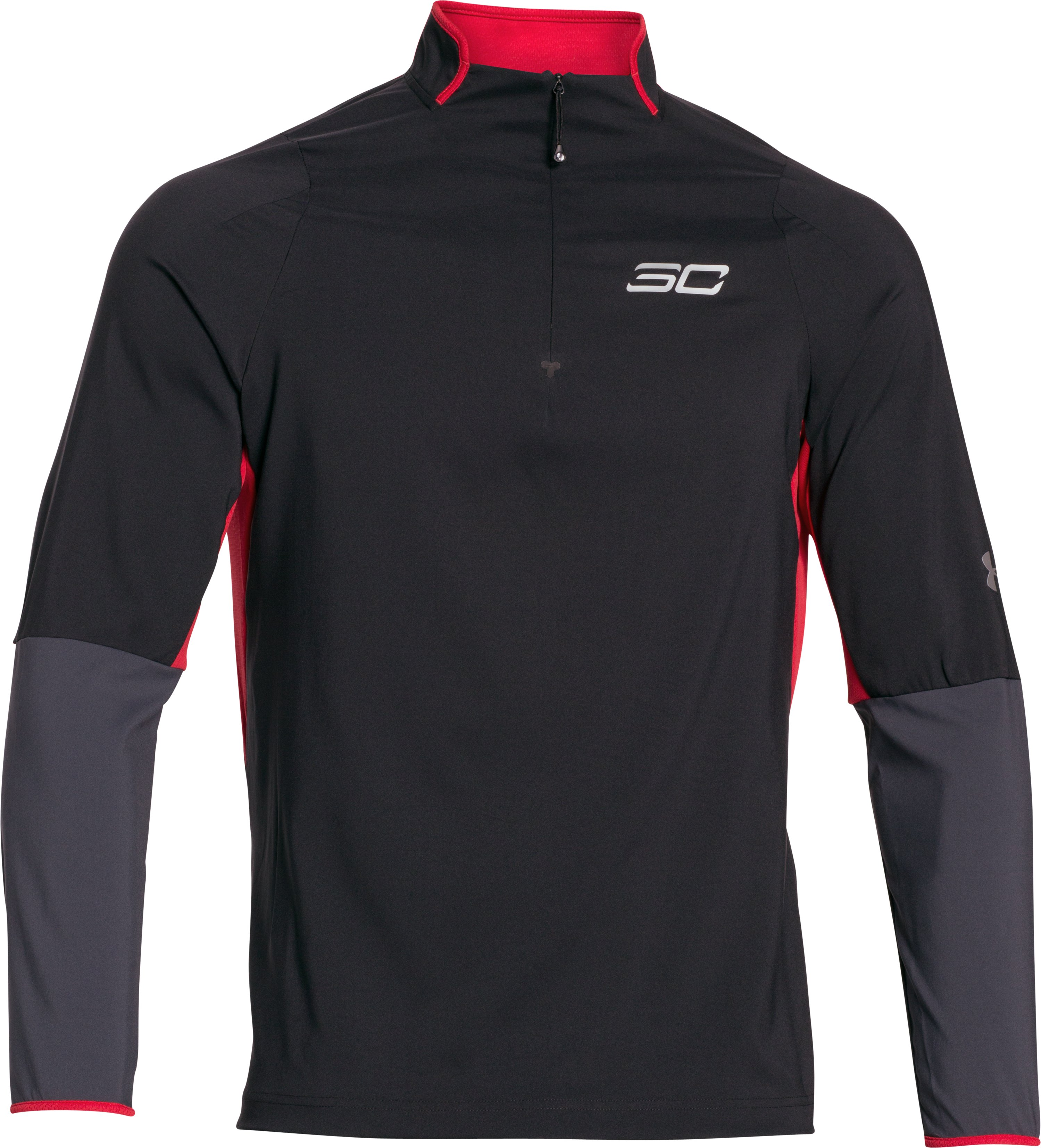 Men's SC30 Stryker Long Sleeve Shooting Shirt, Black ,