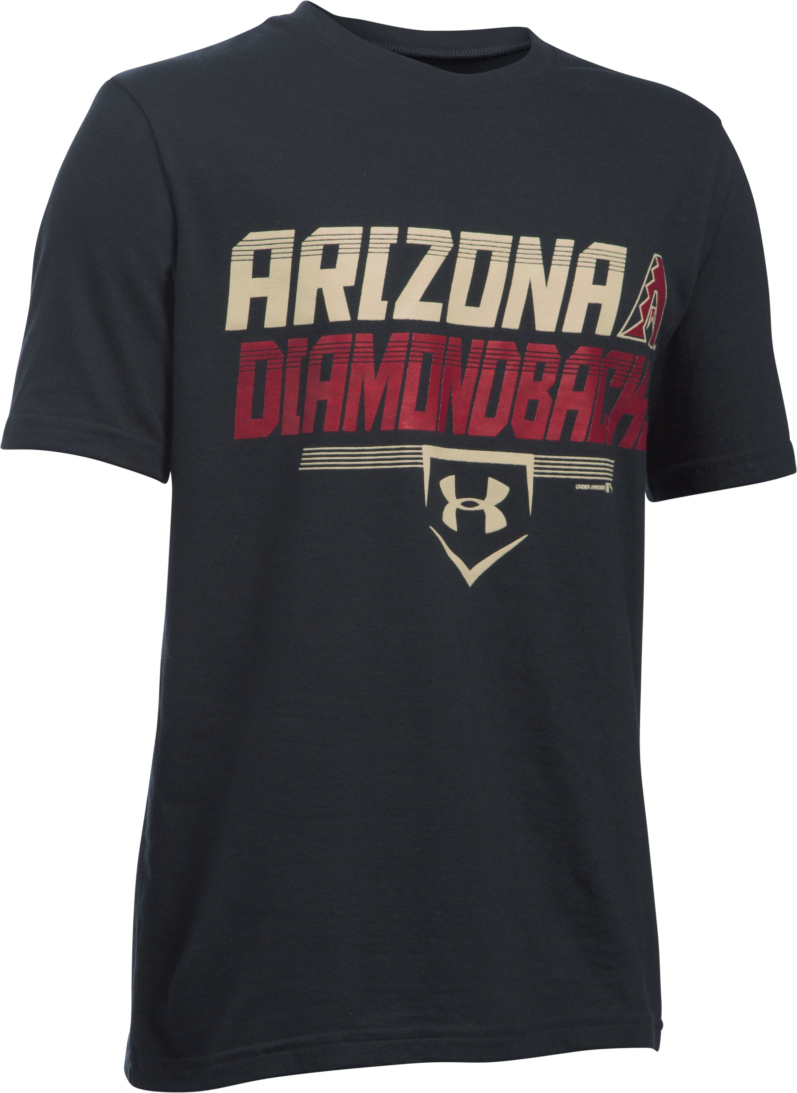 Kids' Arizona Diamondbacks UA Tech™ T-Shirt, Black , zoomed image