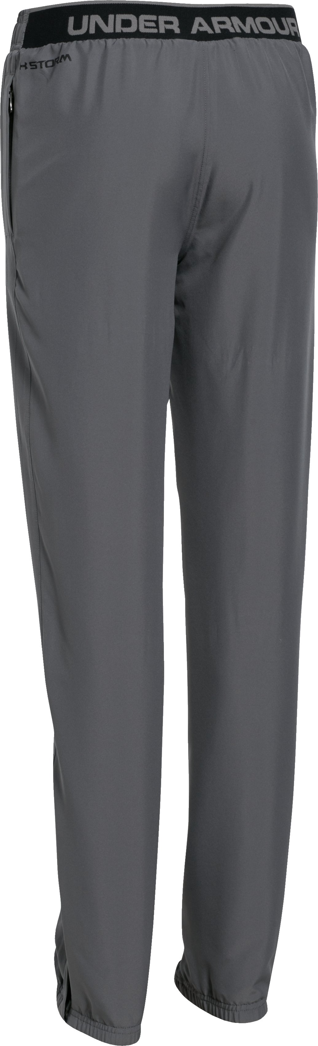 Boys' UA Storm Powerhouse Pants, Graphite,