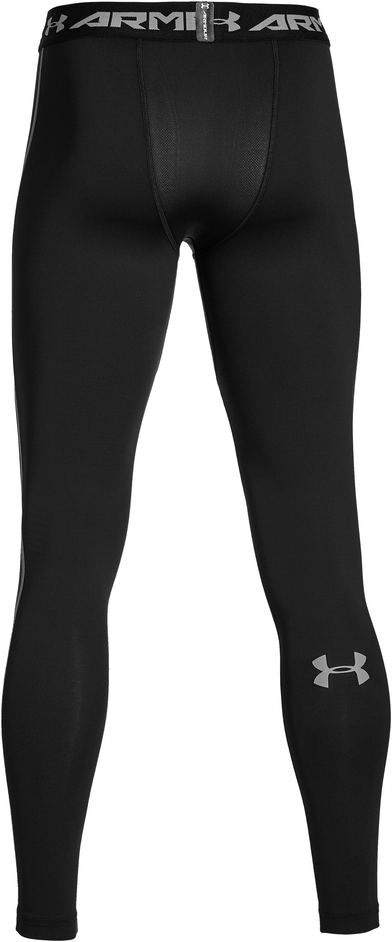 Men's UA ColdGear® Armour Compression Leggings, Black ,