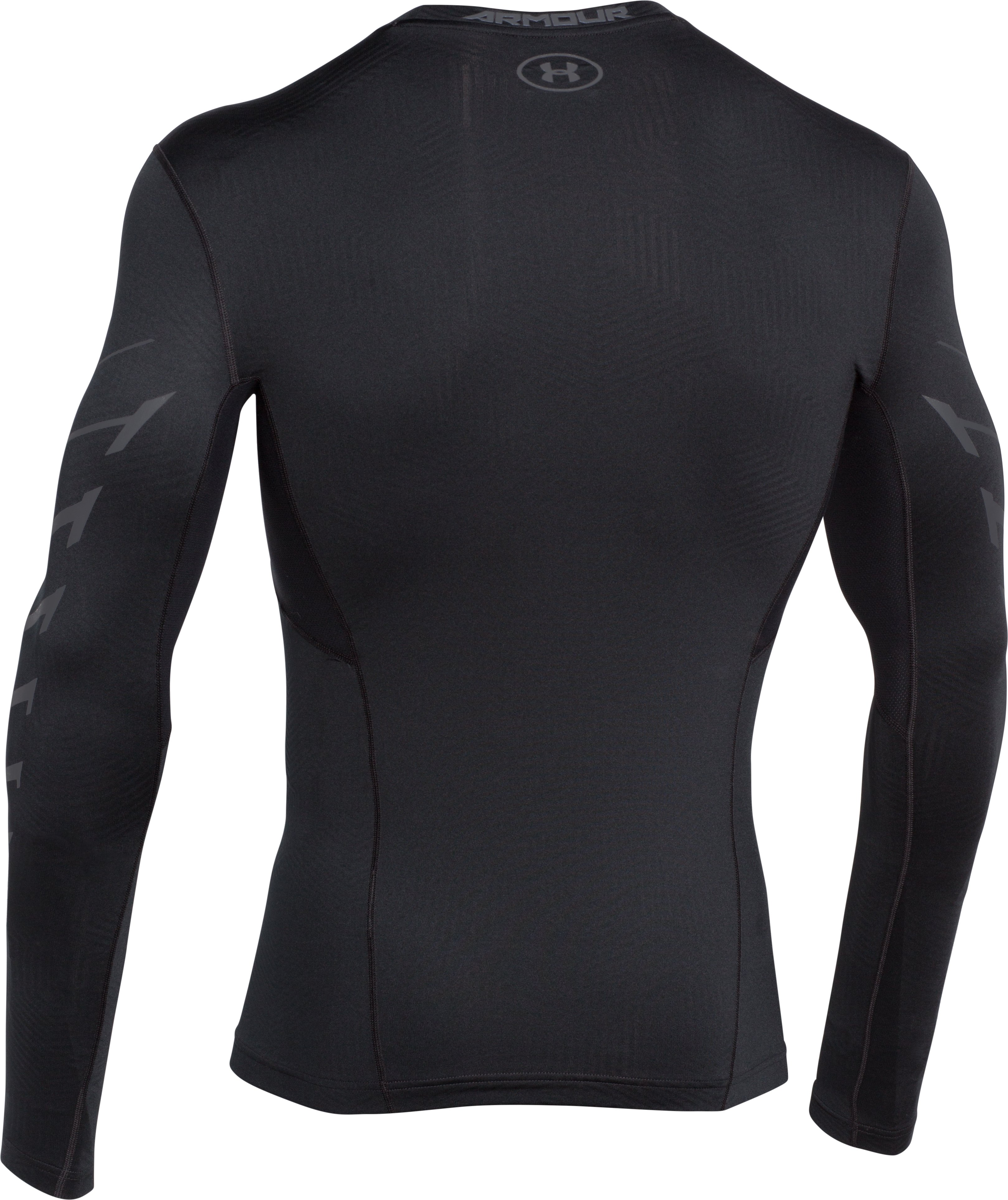 Men's UA ColdGear® Infrared Armour Compression Crew, Black