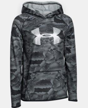 Girls' UA Armour® Fleece Printed Big Logo Hoodie  2 Colors $29.99 to $37.99