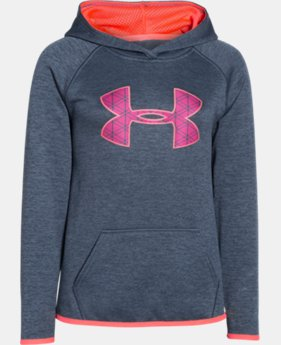 Girls' UA Armour® Fleece Printed Big Logo Hoodie LIMITED TIME: FREE U.S. SHIPPING 1 Color $28.49 to $37.99