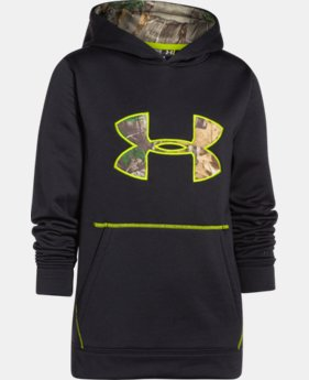 Kids' UA Storm Caliber Hoodie LIMITED TIME OFFER + FREE U.S. SHIPPING  $31.49 to $48.99