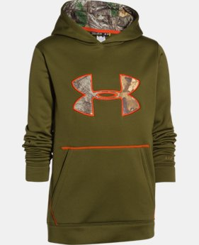 New to Outlet Kids' UA Storm Caliber Hoodie  10 Colors $32.99 to $41.99
