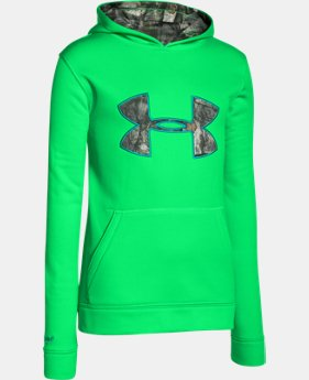 Kids' UA Storm Caliber Hoodie LIMITED TIME: FREE SHIPPING  $29.24