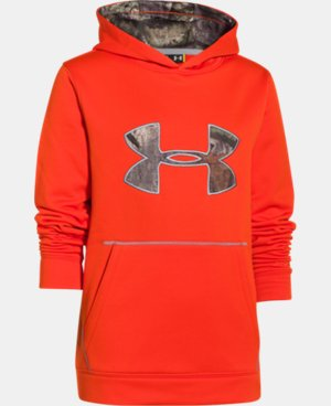 Kids' UA Storm Caliber Hoodie LIMITED TIME OFFER + FREE U.S. SHIPPING 2 Colors $31.49 to $48.99