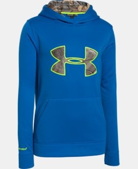 Kids' UA Storm Caliber Hoodie  1 Color $38.99 to $48.99
