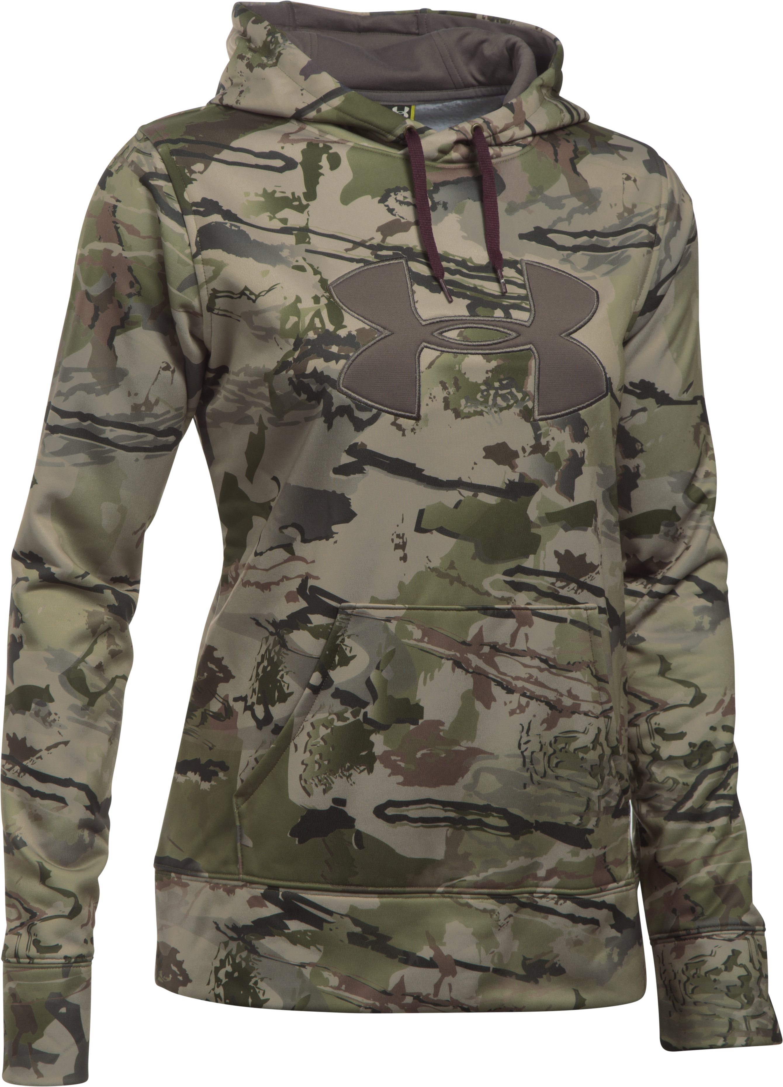 Women's UA Camo Big Logo Hoodie, RIDGE REAPER® BARREN, undefined