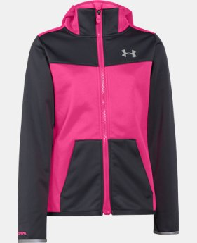 New Arrival  Girls' UA Storm ColdGear® Infrared Full Zip Jacket LIMITED TIME: FREE SHIPPING 1 Color $74.99