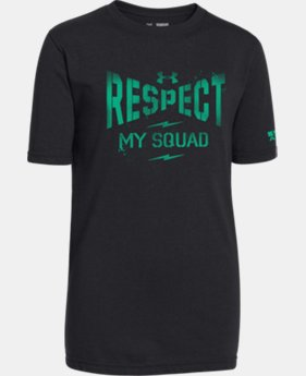 Boys' UA Respect My Squad T-Shirt  1 Color $14.99