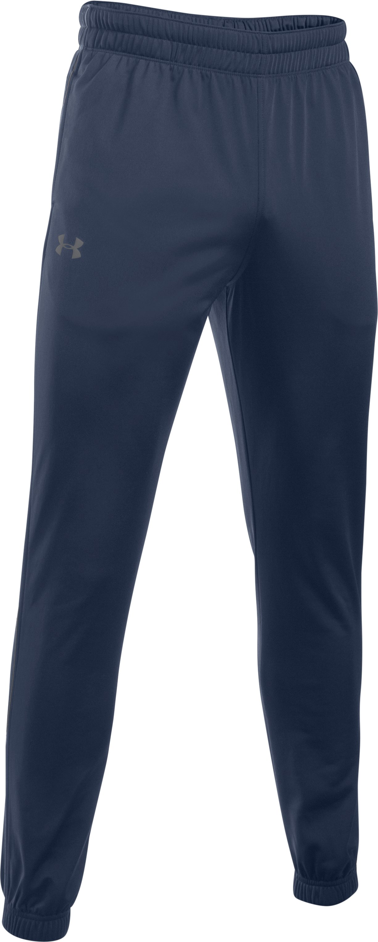 Men's UA Relentless Warm-Up Pants — Tapered Leg, Midnight Navy,