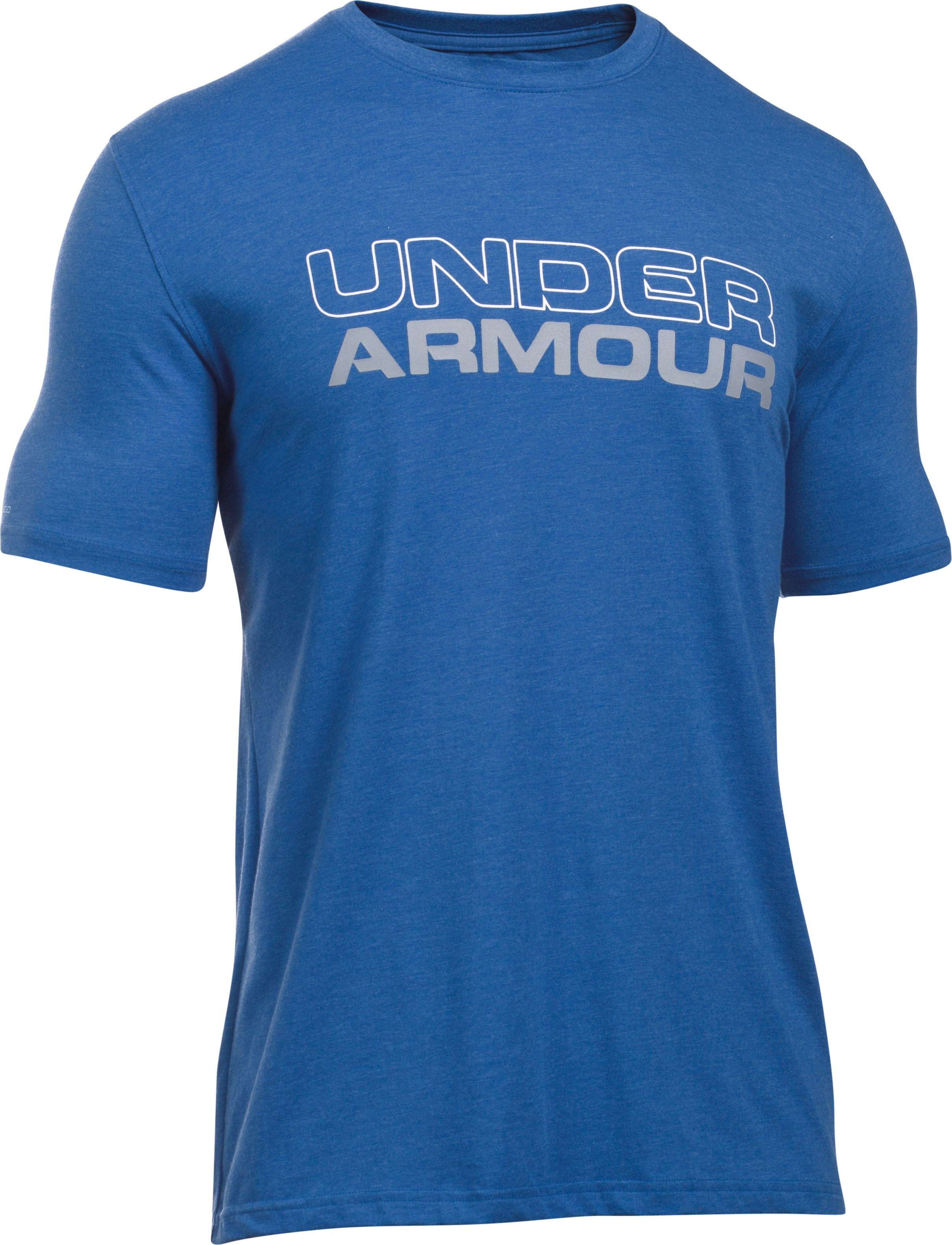 Men's UA Wordmark T-Shirt, Royal