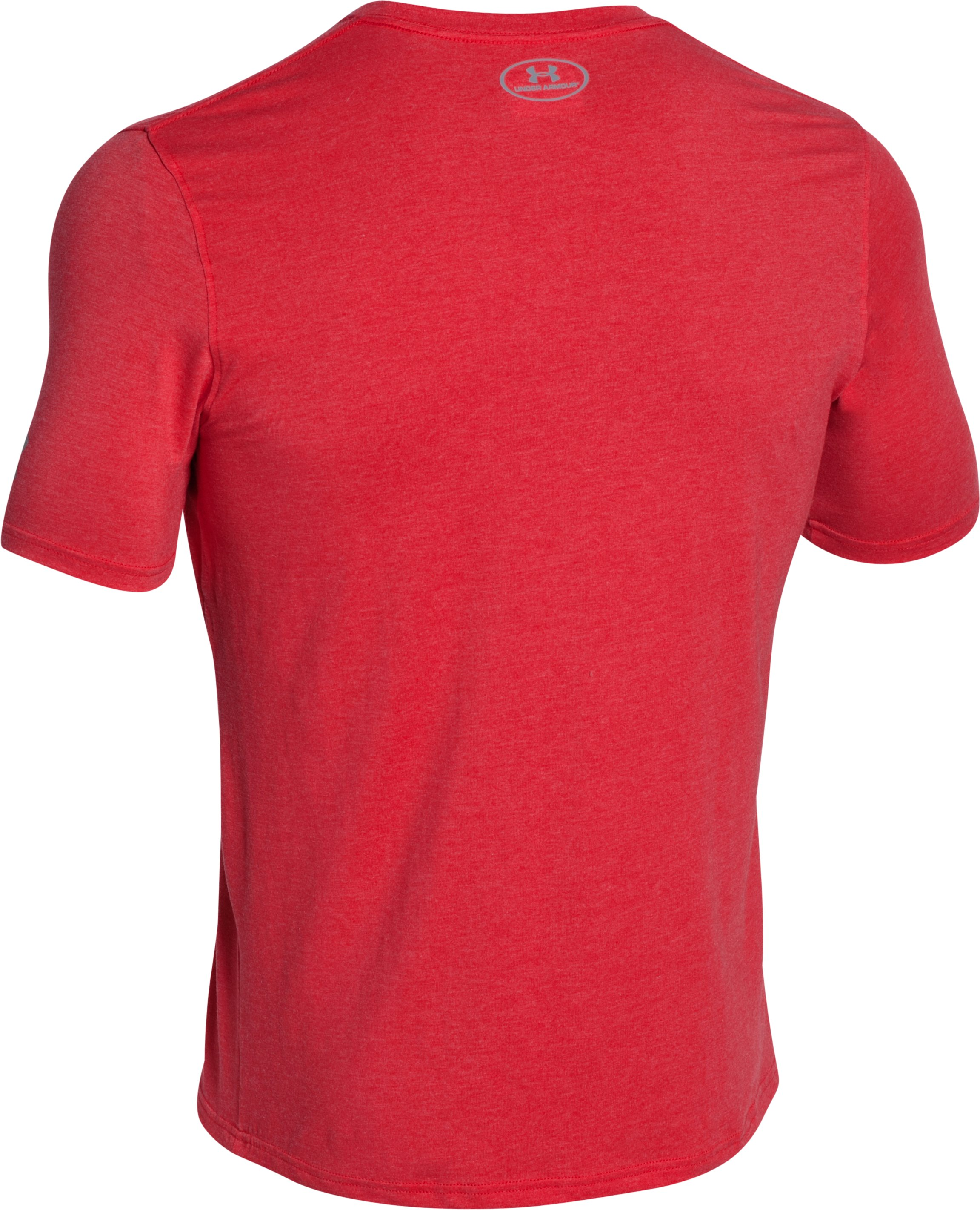 Men's UA Wordmark T-Shirt, Red