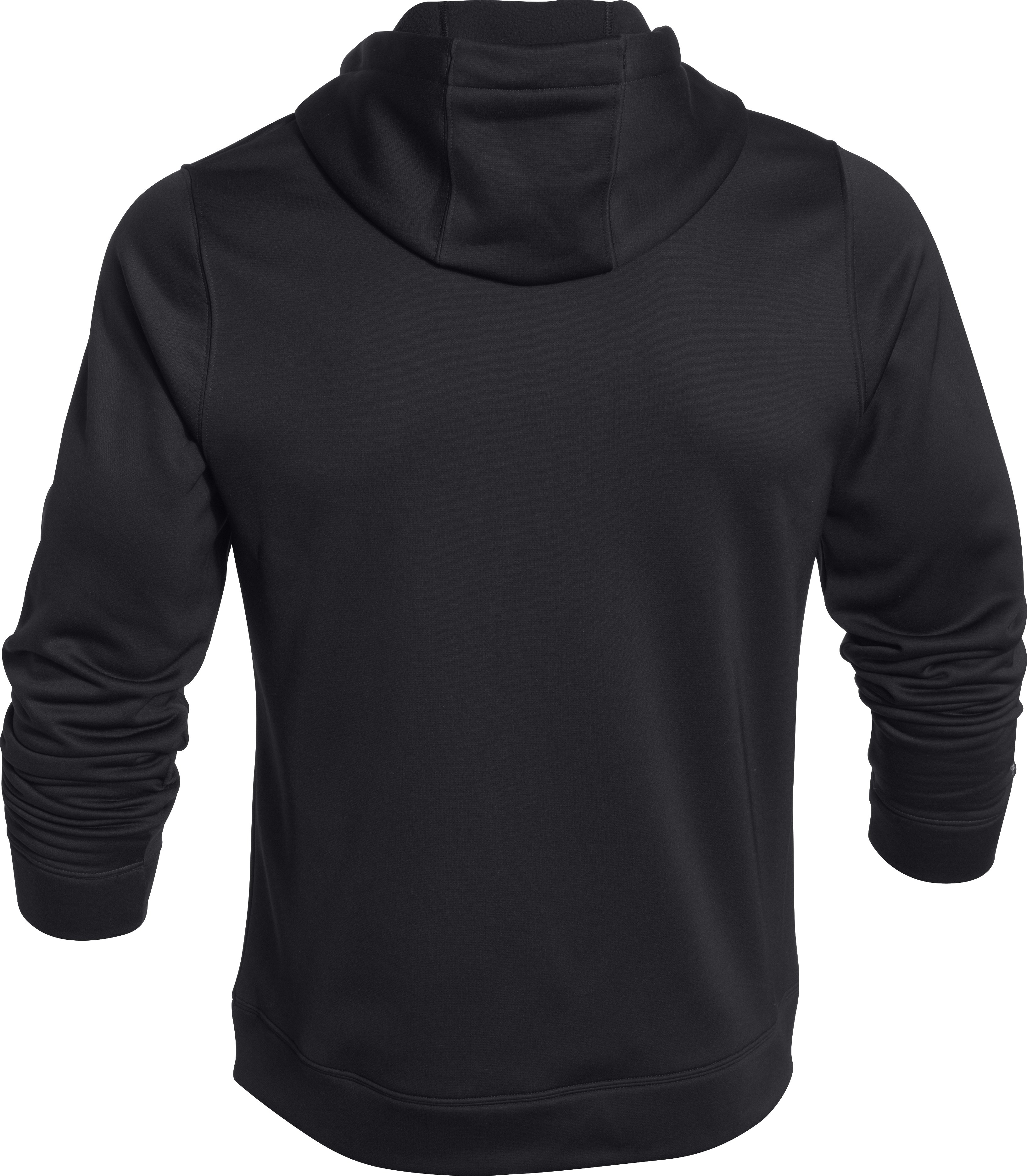 Men's UA Storm MTN Big Logo Hoodie, Black ,
