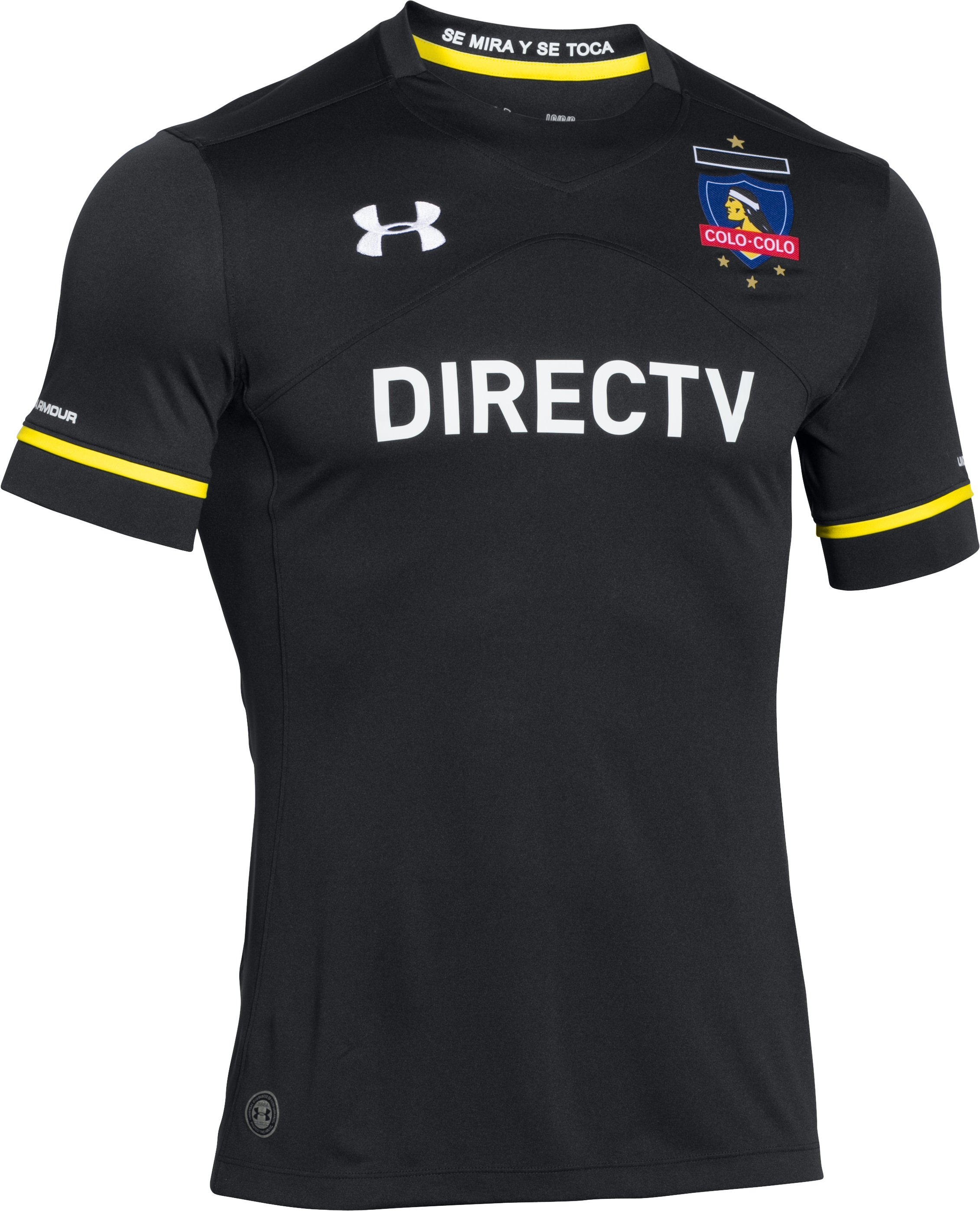 Men's Colo-Colo Away Replica Jersey, Black