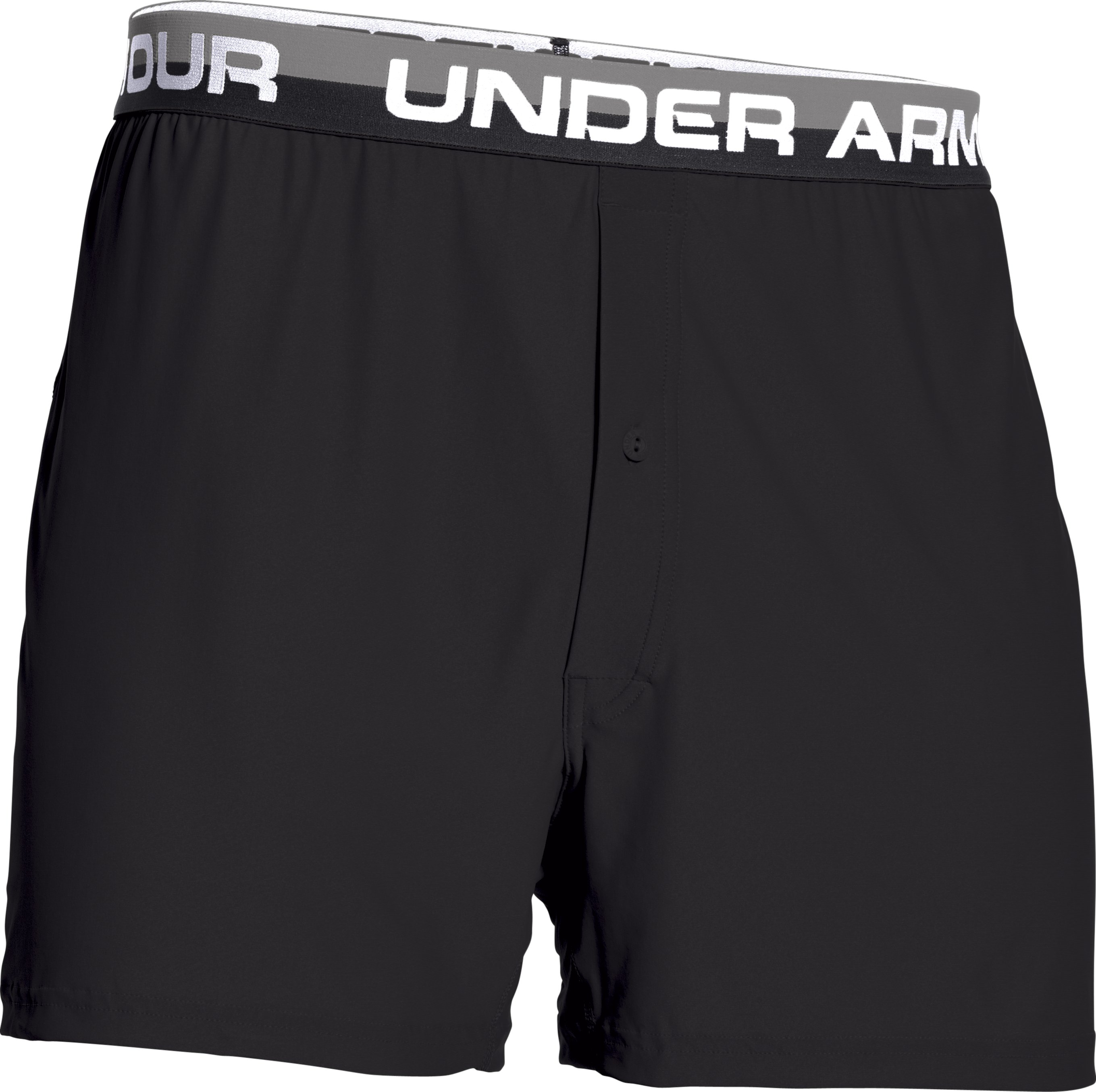"Men's UA Original Series 6"" Boxer Shorts, Black"