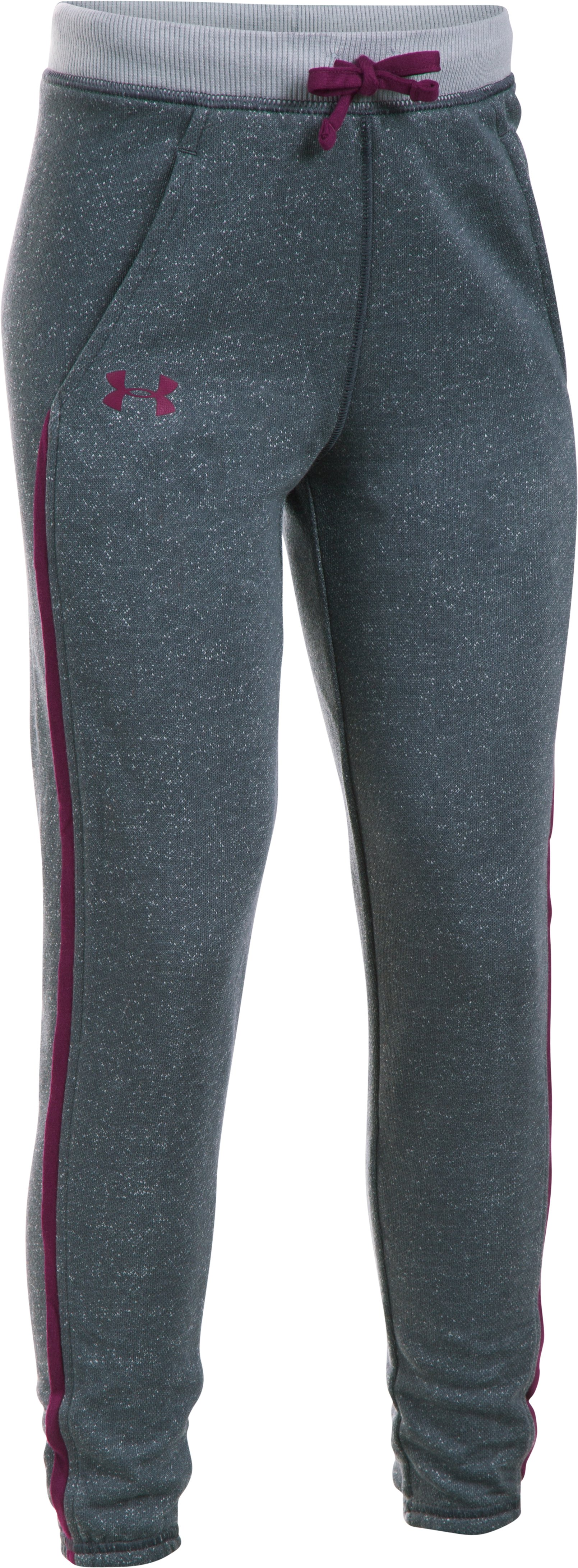 Girls' UA Studio Sport Pant, Lead,