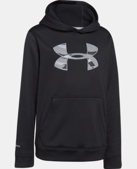 Boys' UA Storm Armour® Fleece MTN Hoodie  2 Colors $33.99
