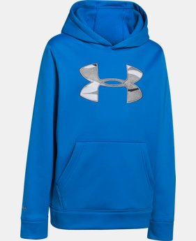 Boys' UA Storm Armour® Fleece MTN Hoodie LIMITED TIME: FREE U.S. SHIPPING 1 Color $33.99