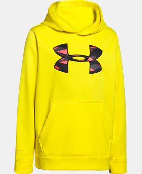 Boys' UA Storm Armour® Fleece MTN Hoodie   $33.99