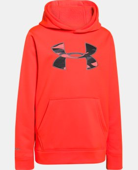 Boys' UA Storm Armour® Fleece MTN Hoodie LIMITED TIME: FREE SHIPPING 1 Color $49.99