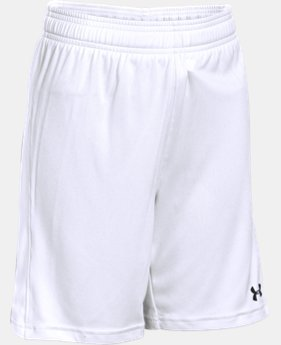 Boys' UA Re-Fixture Soccer Shorts  1 Color $13.79 to $17.99