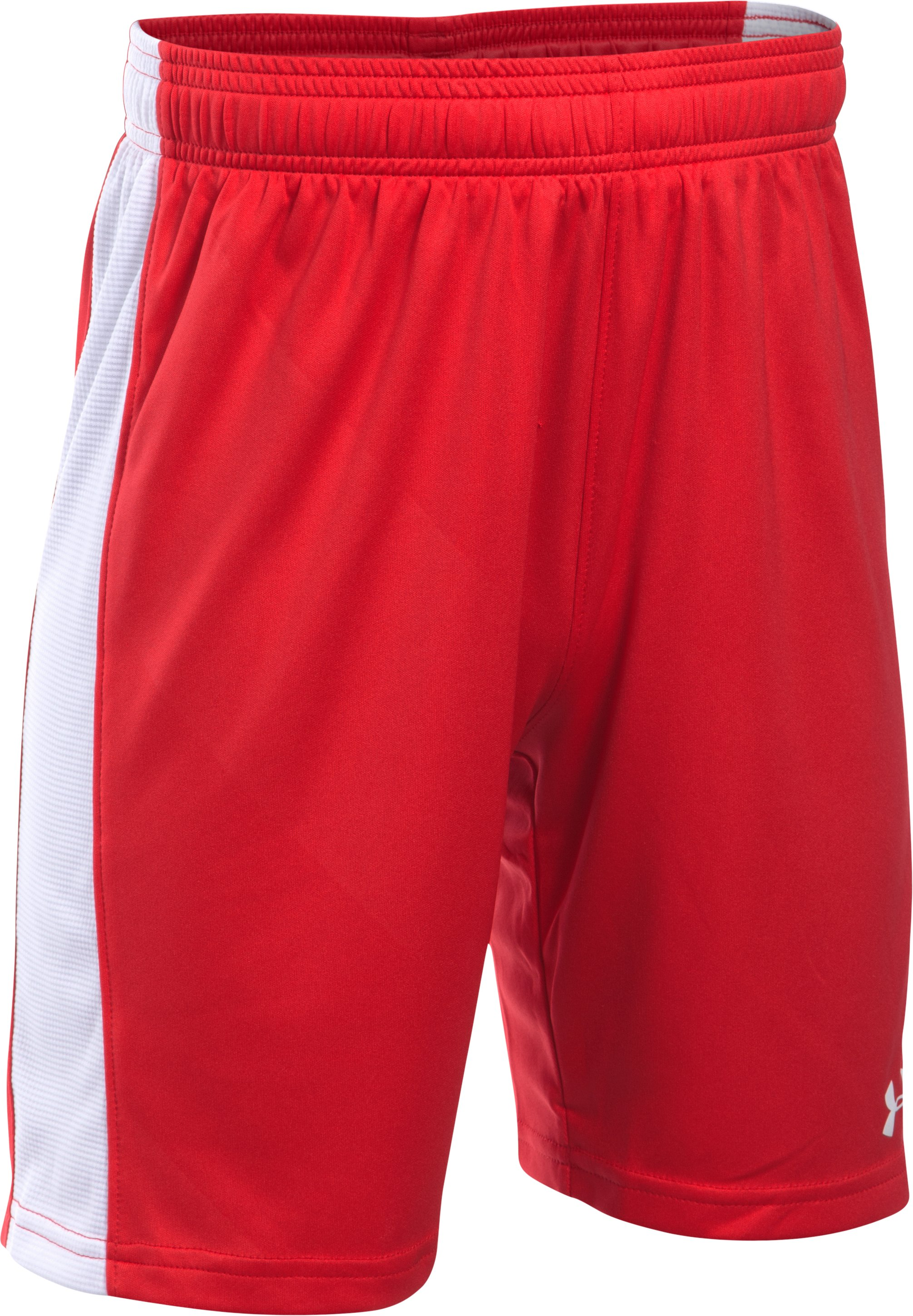 Boys' UA Re-Fixture Soccer Shorts, Red,