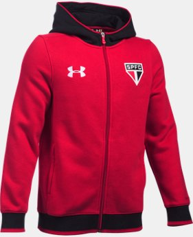Boys' Sao Paulo 15/16 Storm Full Zip Hoodie LIMITED TIME: FREE U.S. SHIPPING 1 Color $48.99