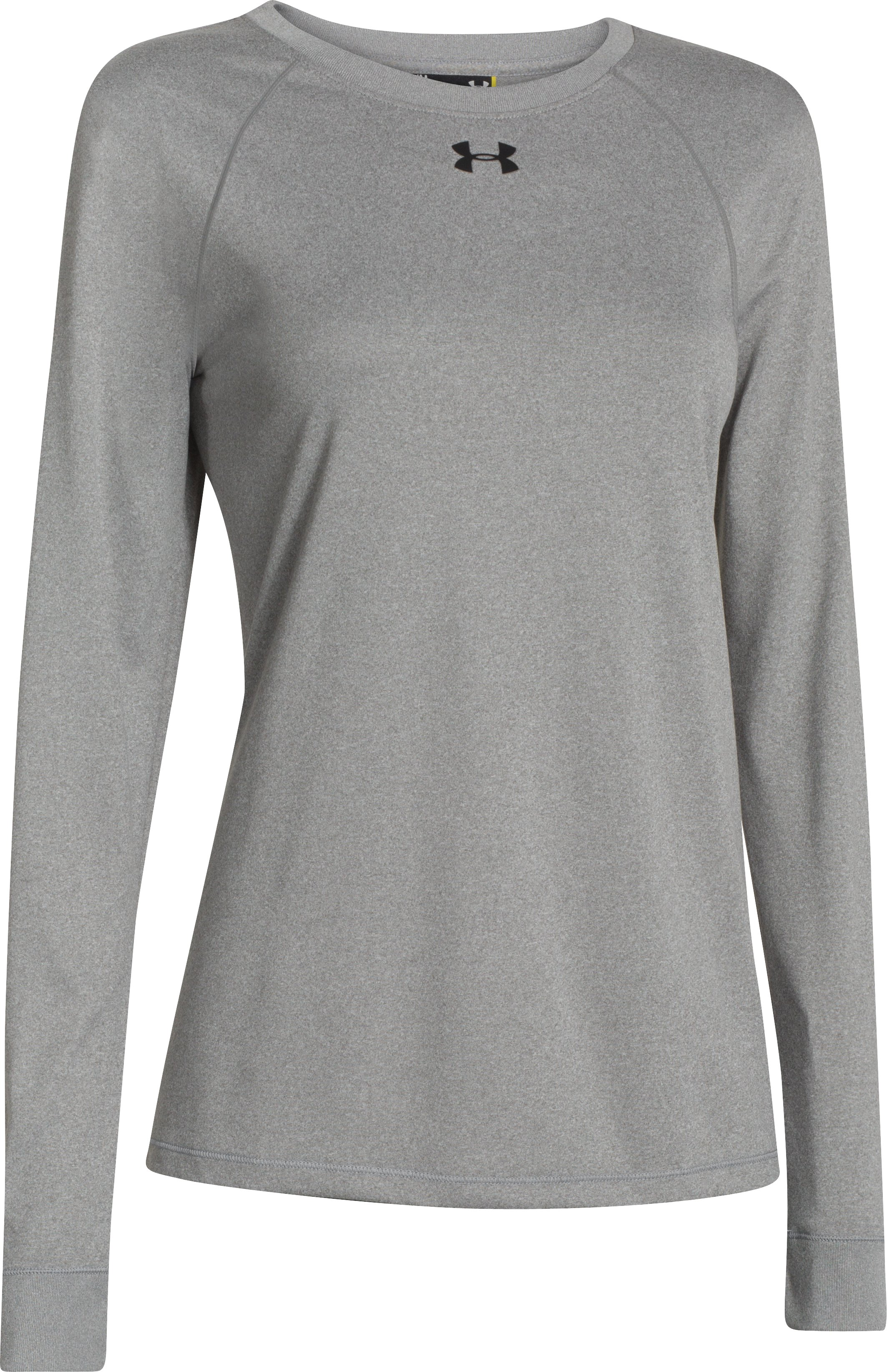 Women's Locker Long Sleeve T-Shirt, True Gray Heather