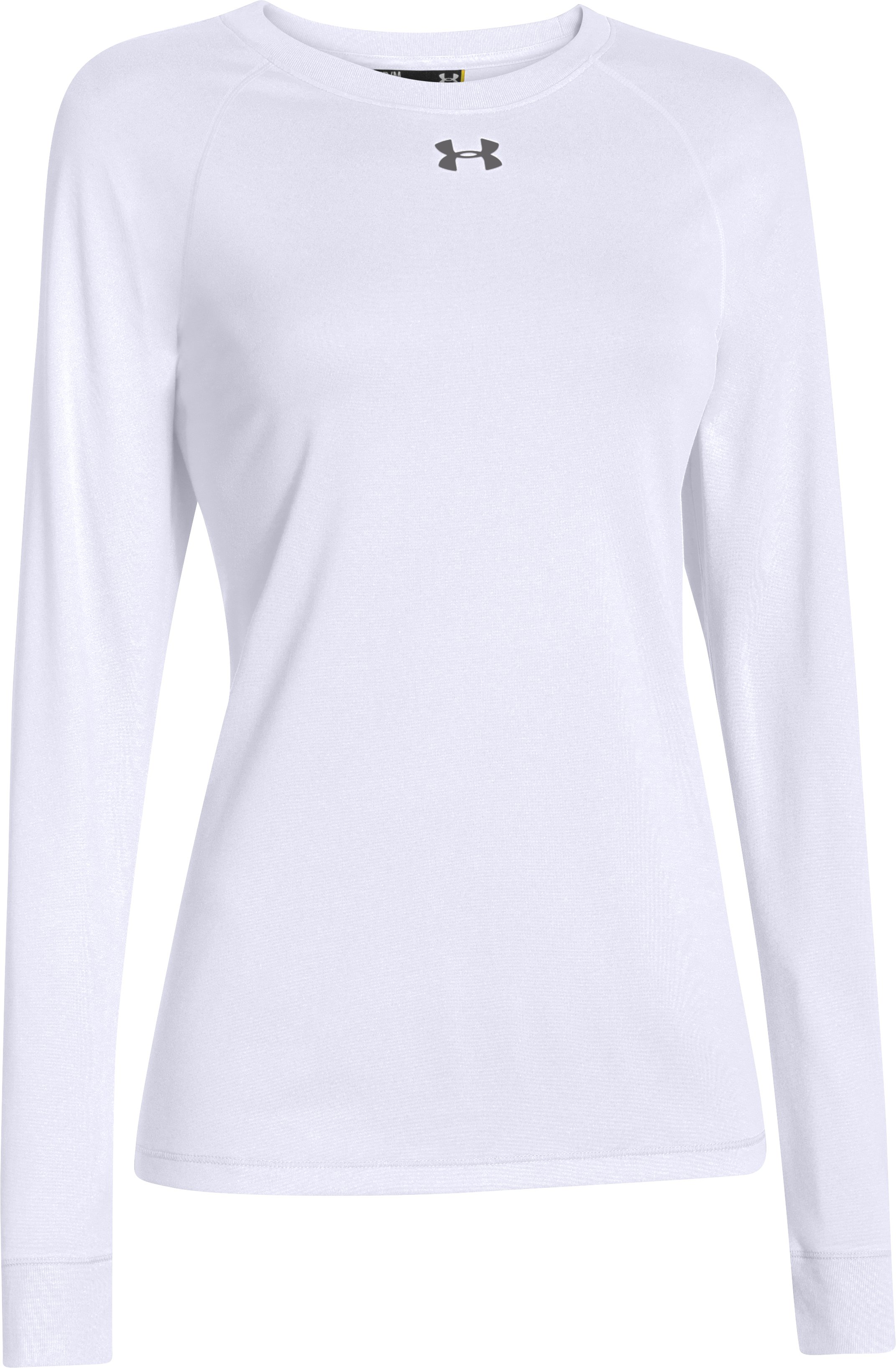 Women's Locker Long Sleeve T-Shirt, White,