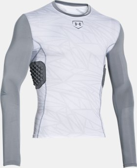 Men's UA Baseball Pinnacle Long Sleeve  2 Colors $42.74