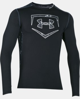 New Arrival Men's UA Raid Baseball Long Sleeve Shirt LIMITED TIME: FREE SHIPPING 4 Colors $44.99