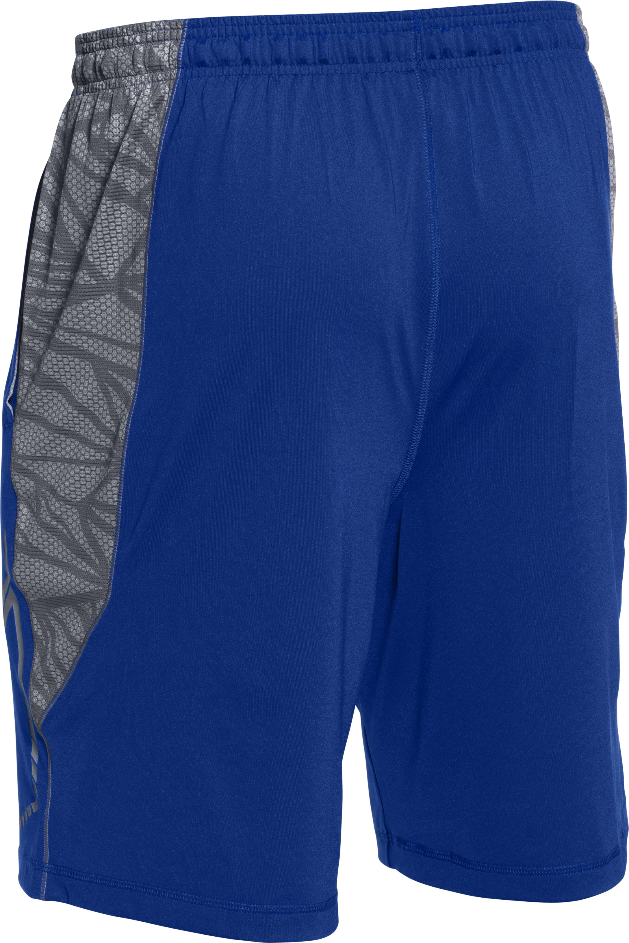 Men's UA Undeniable Baseball Training Shorts, Royal,