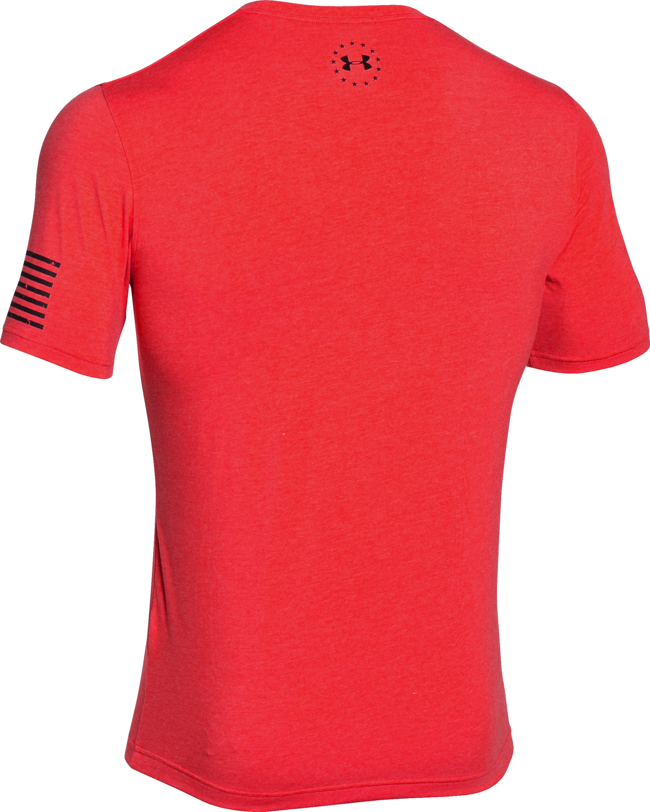 Men's UA Freedom T-Shirt, ROCKET RED,