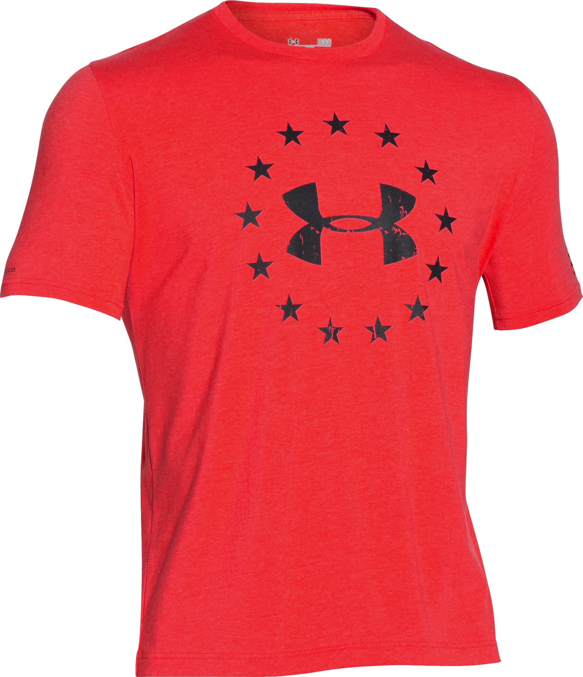 Men's UA Freedom T-Shirt, ROCKET RED, undefined