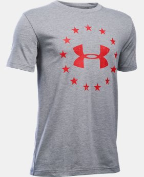 Boys' UA Freedom T-Shirt LIMITED TIME: FREE SHIPPING 1 Color $19.99