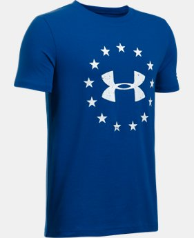 Boys' UA Freedom T-Shirt  2 Colors $19.99