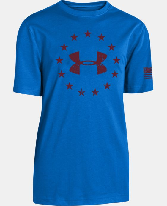 Boys' UA Freedom T-Shirt  1 Color $14.99