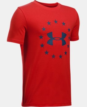 New Arrival Boys' UA Freedom T-Shirt  1 Color $19.99