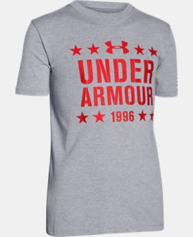 Boys' UA Freedom 1996 T-Shirt  1 Color $14.99