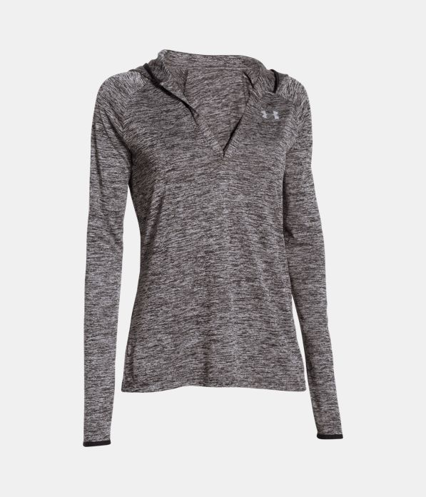 Women's UA Tech™ Long Sleeve Hooded Henley | Under Armour US