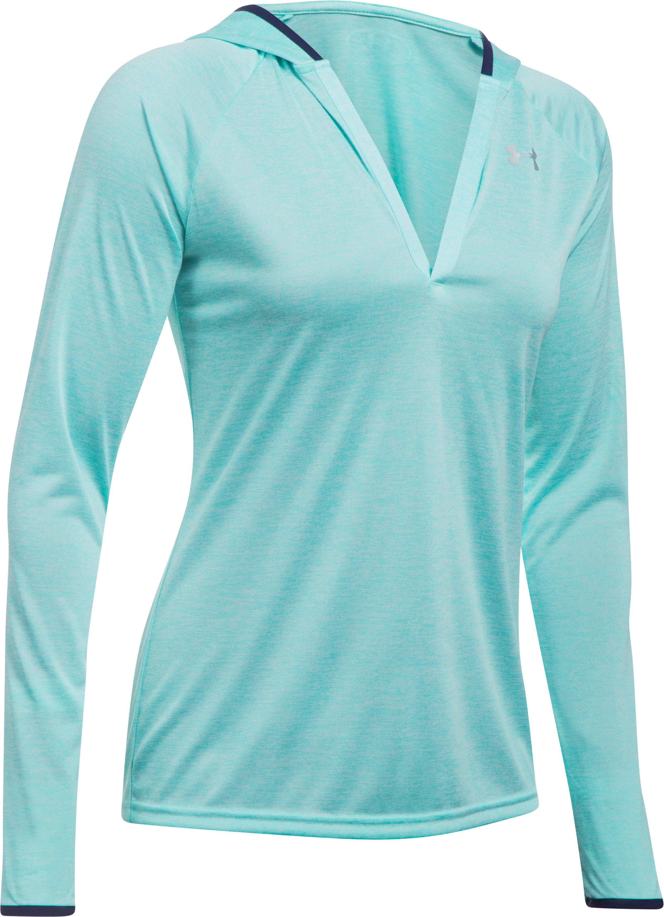 Women's UA Twisted Tech™ Long Sleeve Hoodie, BLUE INFINITY