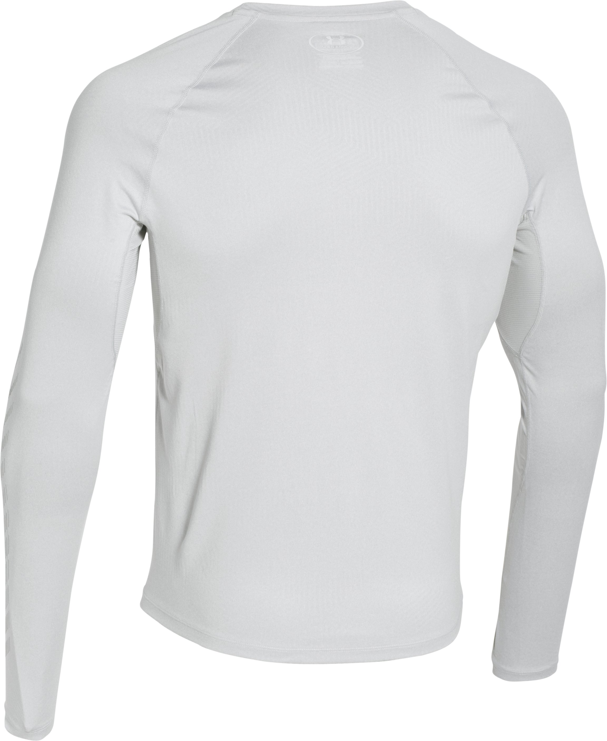 Men's UA ColdGear® Infrared Long Sleeve, AIR FORCE GRAY HEATHER